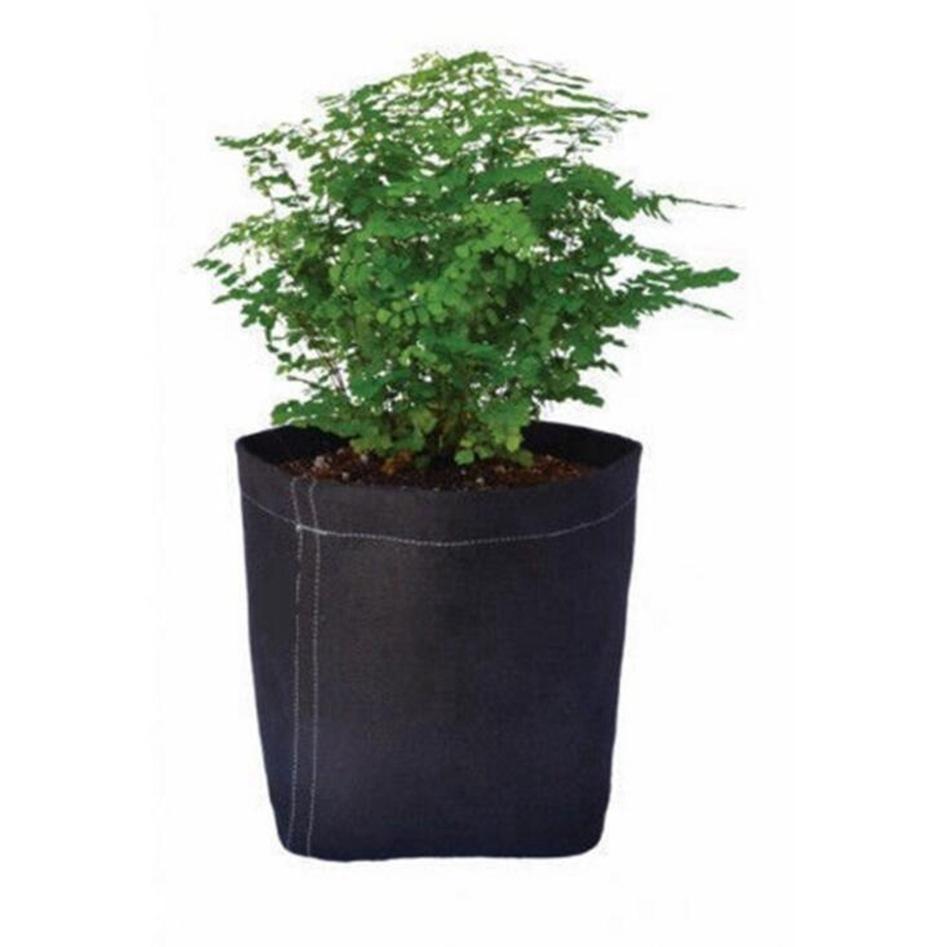 La nouvelle de haute qualité noir non tissé grandir Sac pochette conteneur racine grandir Pots de plein air jardinage plantation Sacs Culture Sacs