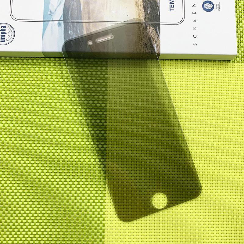 Privacidade de vidro temperado para iPhone 6 6S 7 8 Plus Anti-Spy protetor de tela 9H Dureza vidro temperado