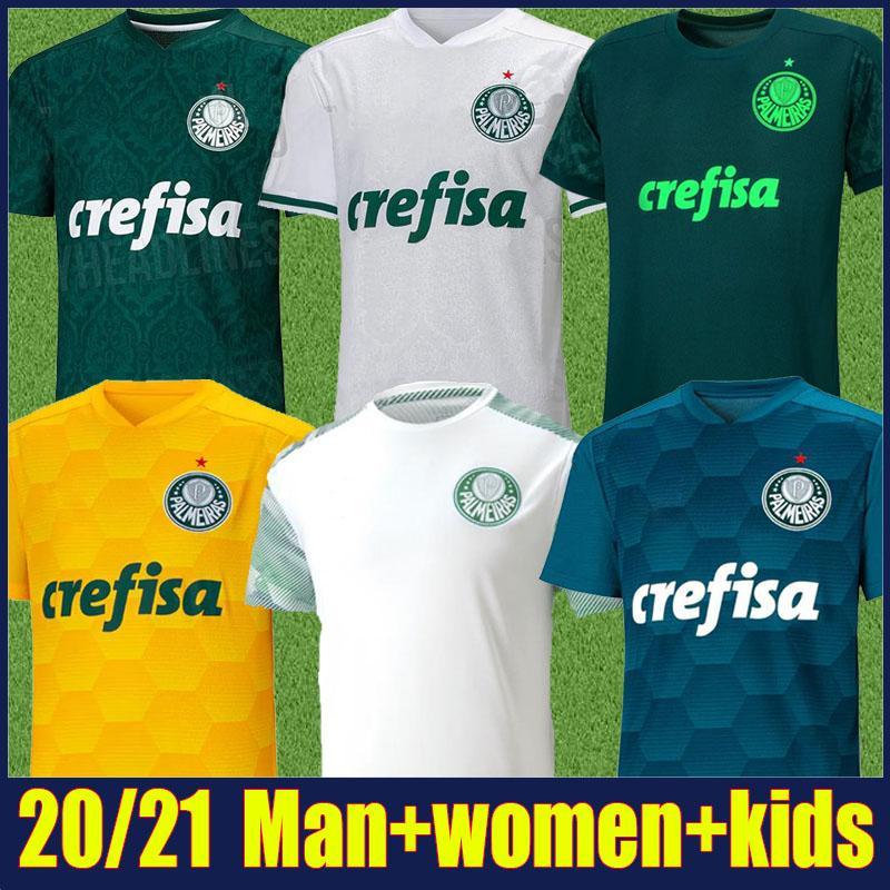 20/21 Palmeiras soccer jersey kids kit DUDU FELIPE MELO football shirts L.ADRIANO B.HENRIQUE traning uniform camisa Palmeiras 2020 Feminina