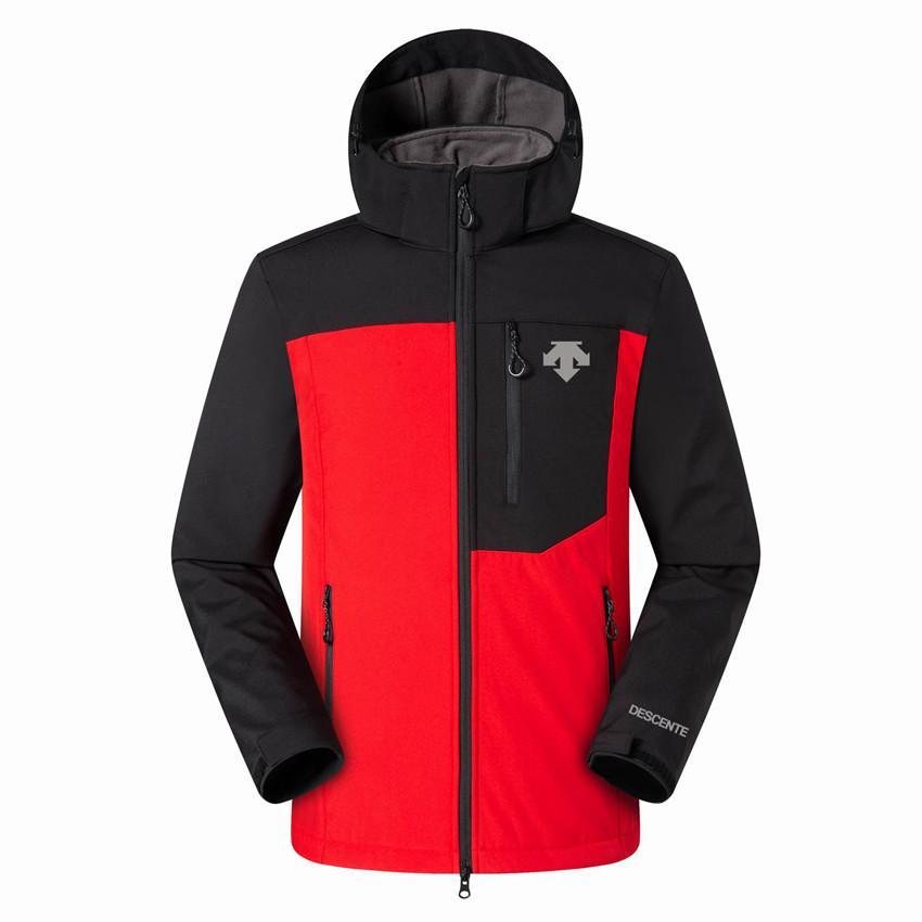 2019 Nuovo Il Mens DESCENTE Giacche Felpe Moda caldo casuale antivento sci Viso Cappotti All'aperto Denali Fleece Jackets 08