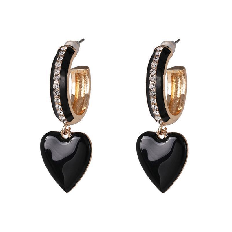Aretes nuovo ed elegante C orecchini per le donne di personalità di modo in lega di zinco punk del vento delle donne degli orecchini di alta qualità