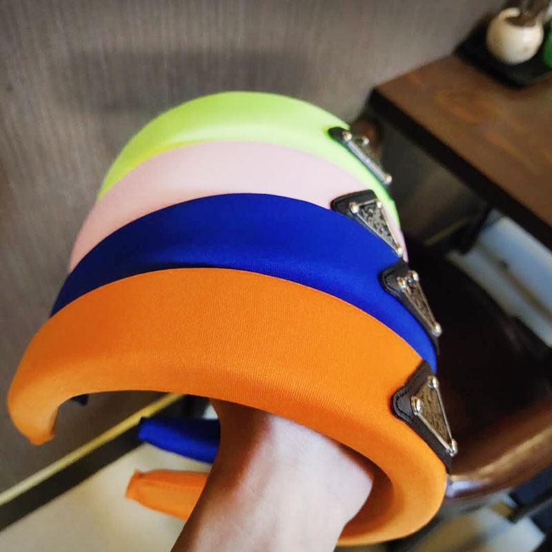 2020 أزياء الشعر ص رباطات مثلث النساء العصابة هيرباند للهدايا أزياء الساخن بيع 8 ألوان