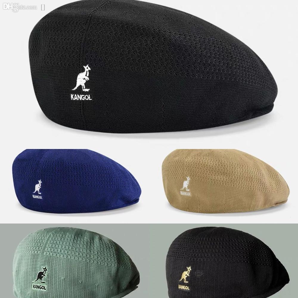cartone animato animale cappello berretto cappello alla moda NCYUA delle donne di lana ricamo caldo caldo del pittore di Beret Painter