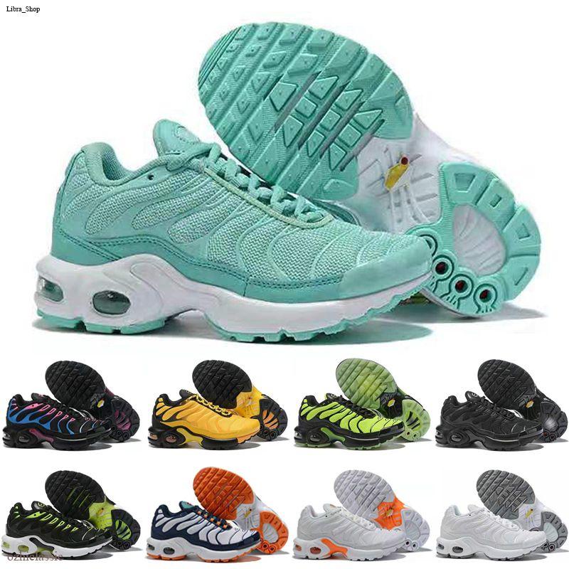Nike Air Max TN Açık Trainer Ayakkabı 28-35 Running Erkek Bebek Kız Moda Sneakers Beyaz İçin Yeni Çocuklar Artı Tn Çocuk Ebeveyn Çocuk Günlük Ayakkabılar