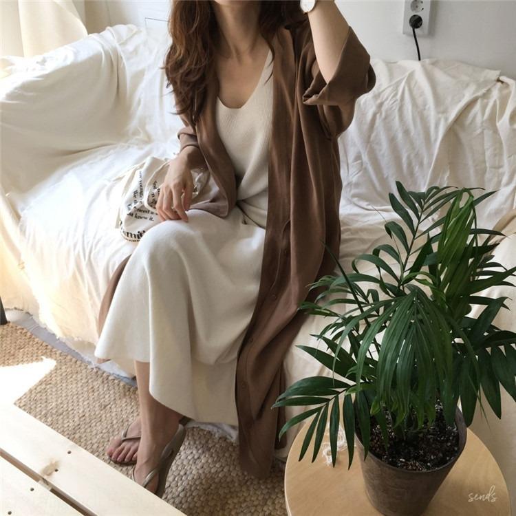 Sonbahar etek etek kadın uzun ayak bileği elbise öğrenci süper uzun Fransız Büyük boy bel D3MK8 Süper peri elbise