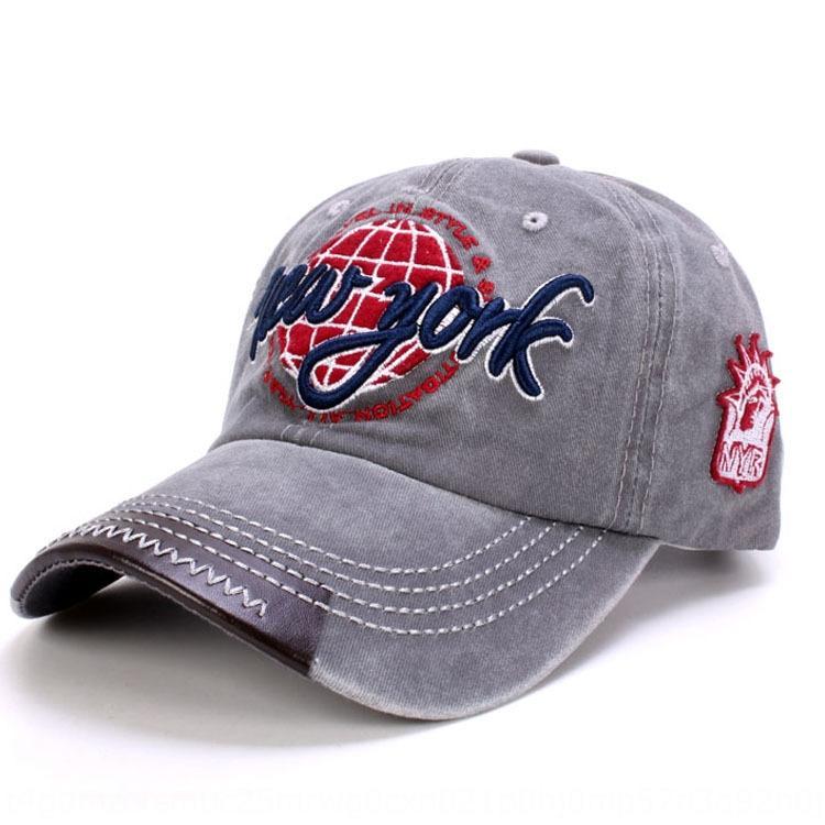 Jrp9h cappello nuovo berretto da baseball da baseball estate lavato uomini denim e la protezione esterna per il tempo libero delle donne