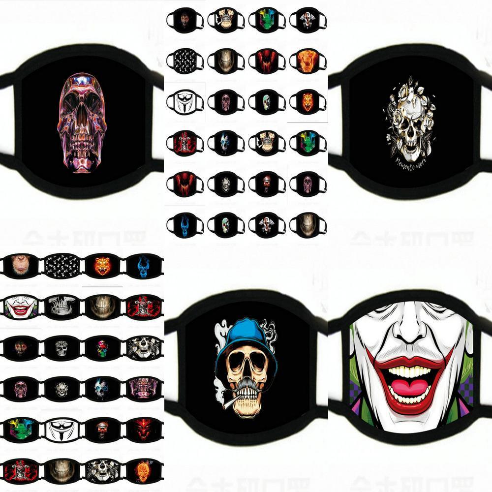 Мода Обучение мужчин для женщин Многоразовых масок девушки маски для лица Смешной Ткани Saerq Pp2006