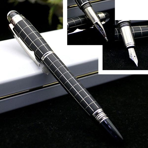 حار الترويجية القلم m الأسطوانة القلم الكريستال الأعلى مكتب مكتب الموردين شحن مجاني جودة عالية حبر جاف نافورة القلم القرطاسية جيدة