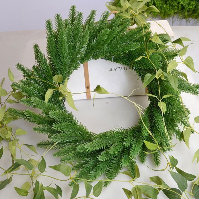 Искусственные сосны ветви елки аксессуары DIY Новый год партия украшения Дети подарки рождественские украшения