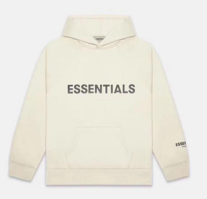 Warm Essentials Cappuccio con cappuccio con cappuccio Mens Womens Fashion Streetwear Pullover Felpe Felpe allentate con cappuccio Amanti Abbigliamento Top Abbigliamento