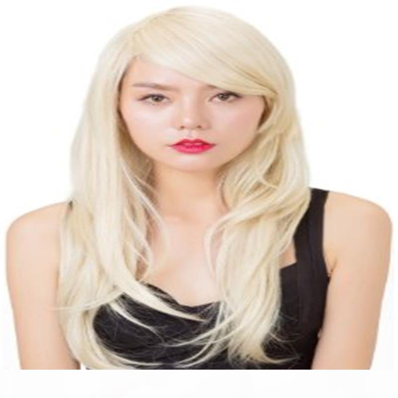 Пользовательский Всего Blonde Hair сотка Бразильского Virgin 100% полного парик шнурка Старшего Silk 5,5 * 5,5 парик и ребенок волос парик человеческих волос обувь