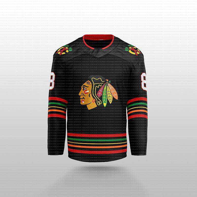 شيكاغو Blackhawks 2020 Concept Patrick Kane Lehner Jonathan Twews 65 Shaw 77 Kirby Dach Dachan Keith Gustafsson DeBrincat Hockey Jersey