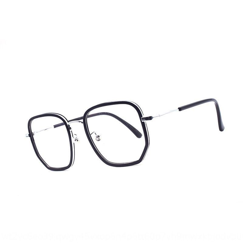 5Xck5 de metal celebridad de Internet irregular unisex 3903 marco de metal irregulares celebridad de Internet Lentes gafas unisex marco 3903