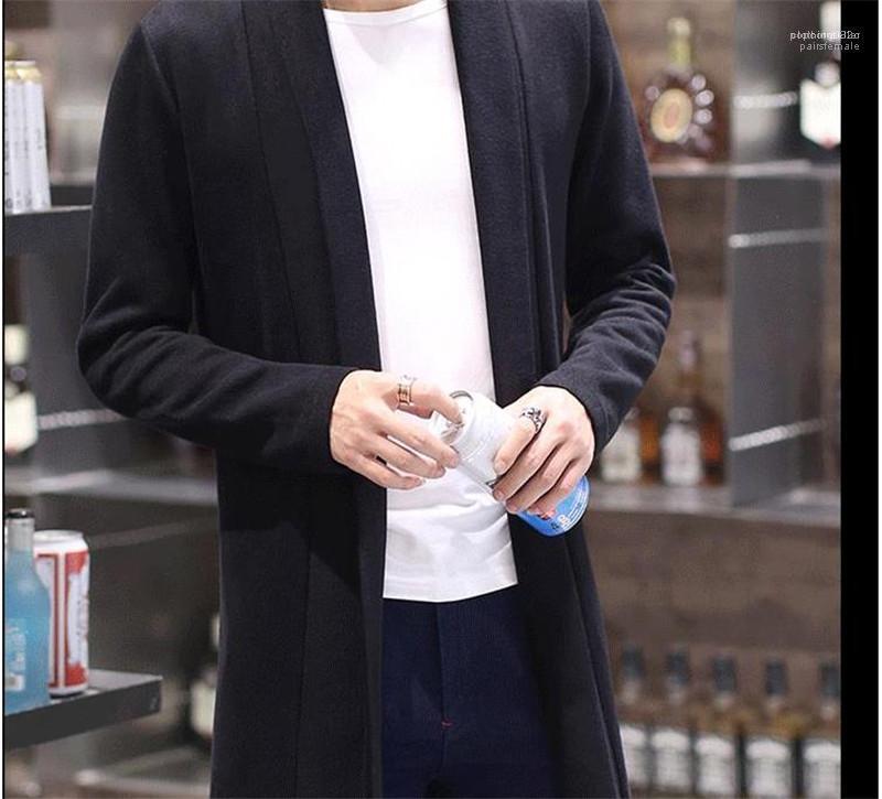 Offene Stich Modedesigner Jacken Langarm Mens Solid Color Coats Frühling Mens Outwear