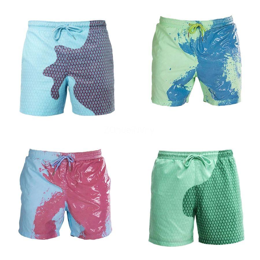 Camada Mens Swimwear Masculino SPA Shorts Mans Swimsuit Duplo Inner Gaze Boxer Shorts 1510-ST # 241