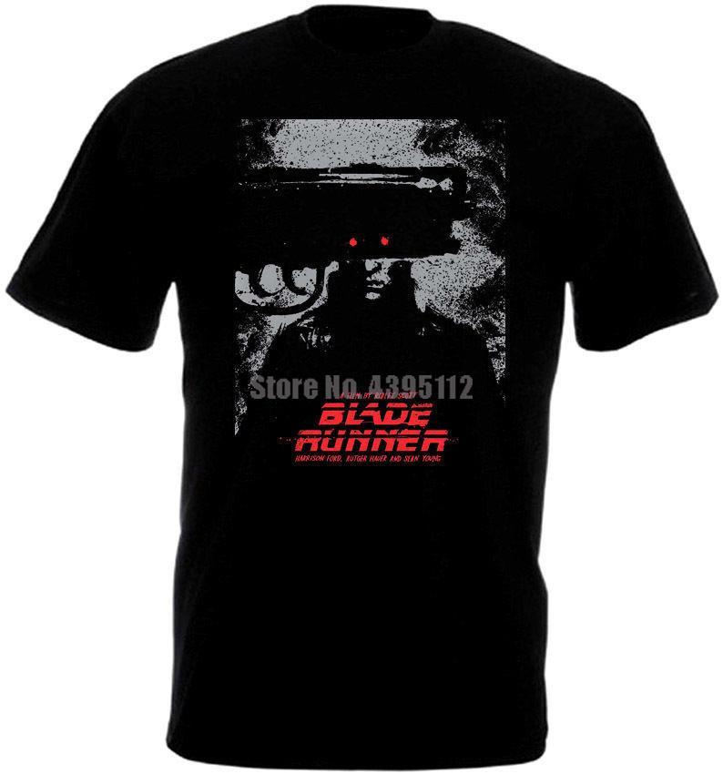 Blade Runner Film Afişi Man'S Korku Tişört Okçuluk Tişört Erkek Vintage Tshirts SSCB Tişört şeyler Vbcixy Soğuk