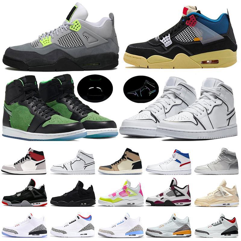 4 كرة السلة الأحذية 12S جامعة الذهب 13S فلينت فرط الملكي 4S الأسود القط 5S البديل بيل رجل مدرب حذاء رياضة حجم 7-13