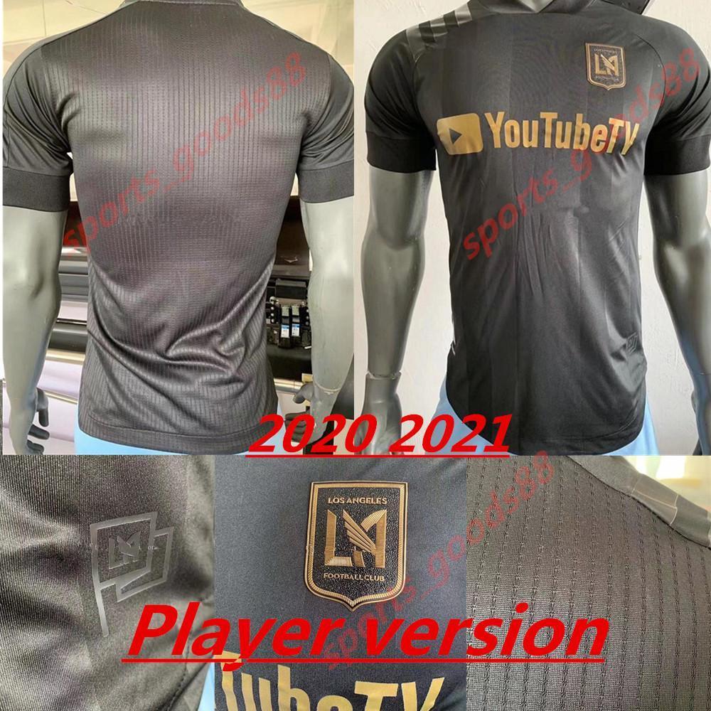 2020 2021 La Los Angeles FC LAFC Вела Футбол Футбол Футбол Версия Homa 20 21 Zimmerman Rossi Благословение Мужские взрослые футбольные футболки