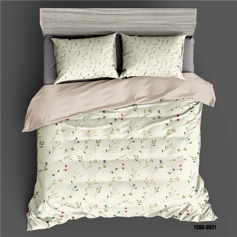 Цифровой печататься трехсекционный постельные принадлежности одеяло одиночный и двойной