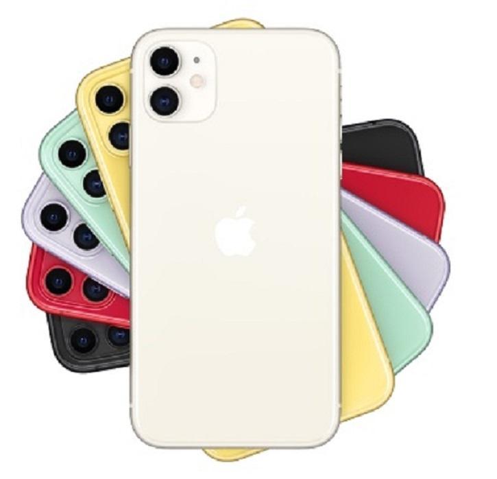 Recuperado Original da Apple iPhone 11 iOS 6.1 polegadas Hexa núcleo 4GB RAM 64GB 128GB ROM 12MP Desbloqueado 4G LTE 5pcs Celular