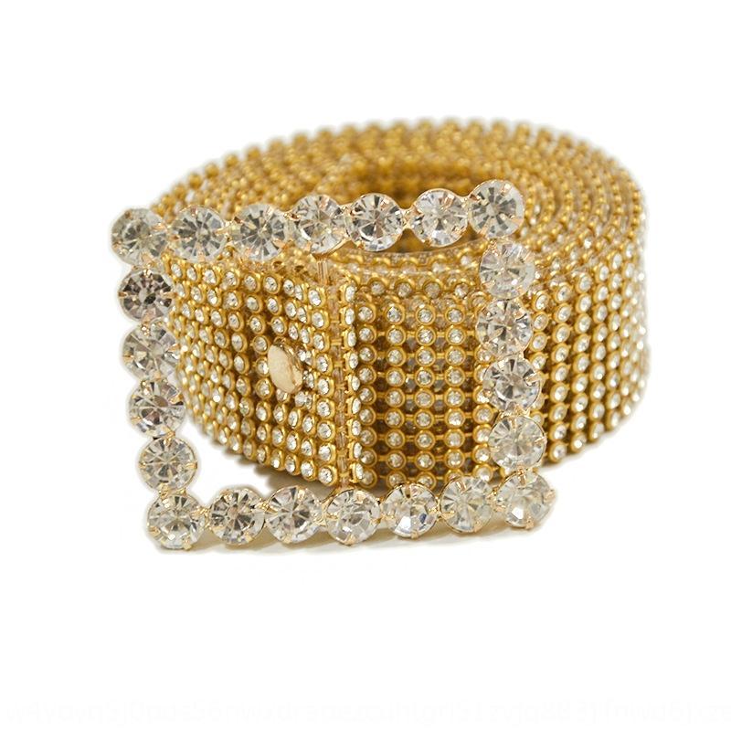 BHDmz Frauen-Gürtel stylediamond Taille Kette Brauthochzeitskleid Allgleiches Hochzeit Kristall-Diamant-Kristall Gurtgurt