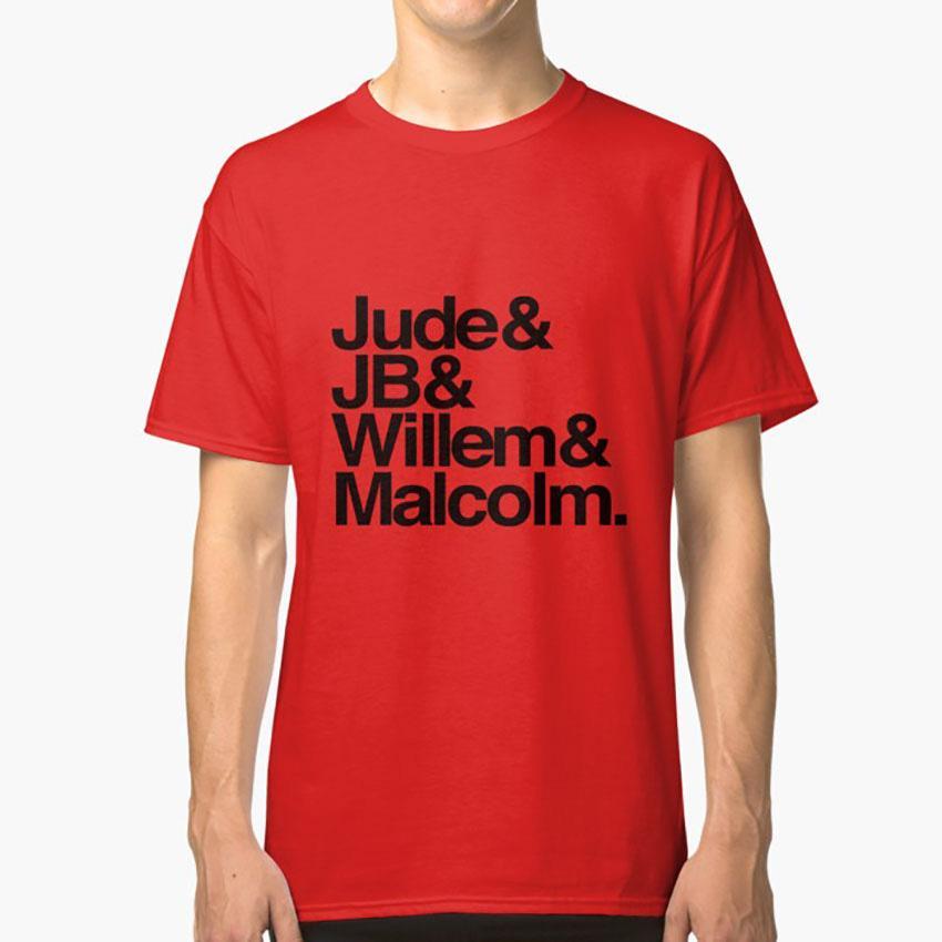 Judejbwillemmalcolm T-Shirt ein wenig Leben Jude Willem Jude Jb Willem Malcolm Hanya Yanagihara Bücher