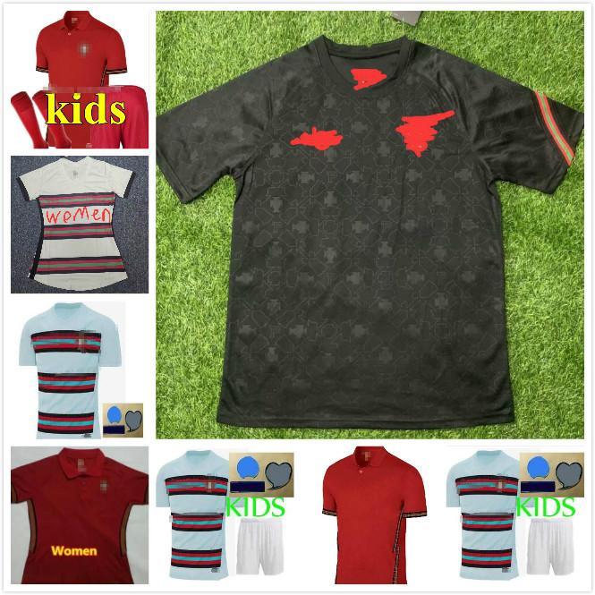 2020 European Cup PT jerseys RONALDO soccer jerseys 20 21 2021 JOAO FELIX GUERREIRO DIAS men kids football shirts kits maillot de foot