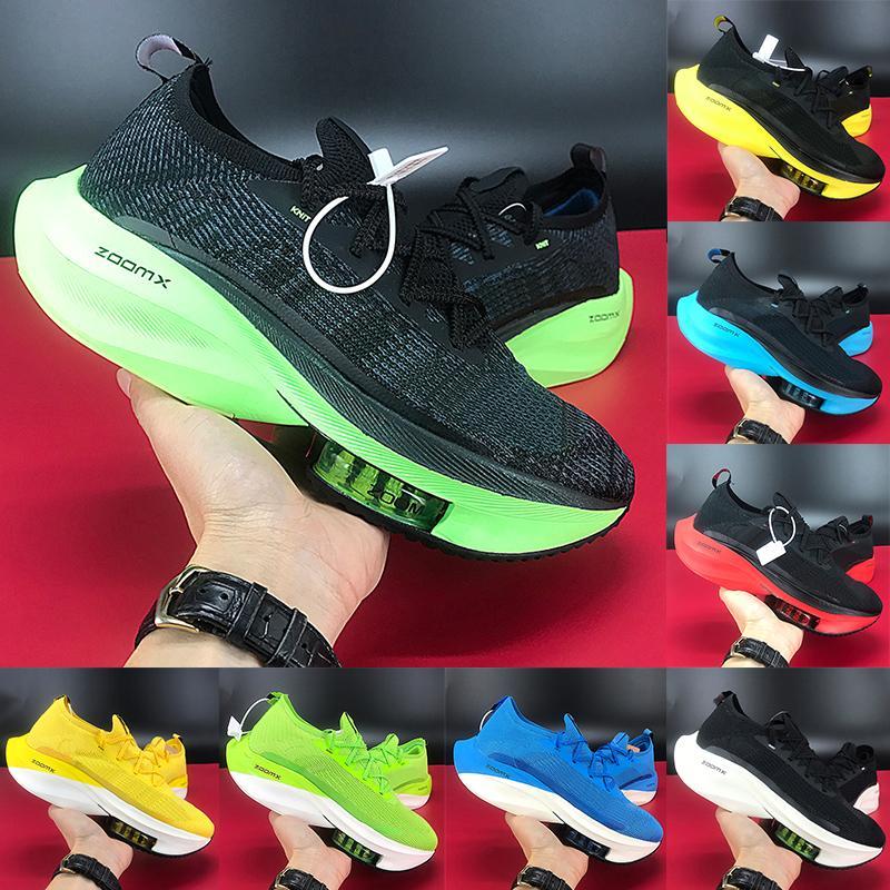 New Best moda zoom alfa próxima% tênis preto amarelos Electric Tour criados verde branco Homens laranja mosca mulheres tênis US 5,5-11