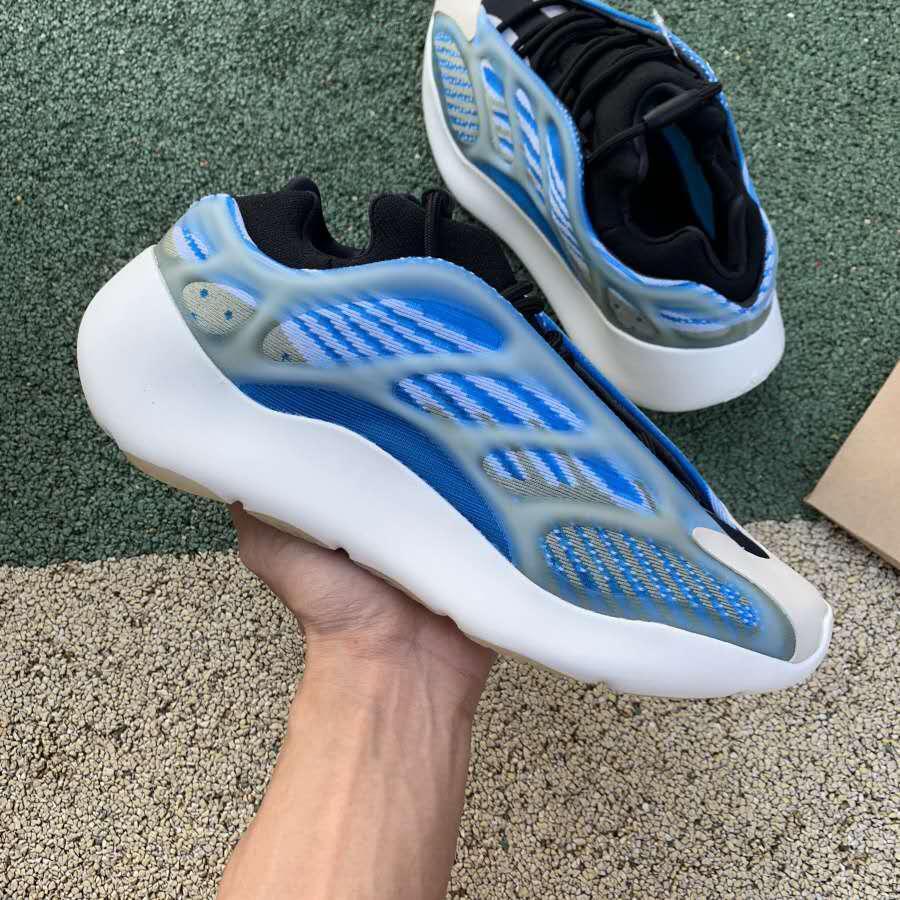 Le nuove scarpe di lusso di marca di moda statici al largo delle donne degli uomini della piattaforma Kanye scarpe per i formatori mens scarpe da ginnastica bianche designer di calzature casuale in esecuzione