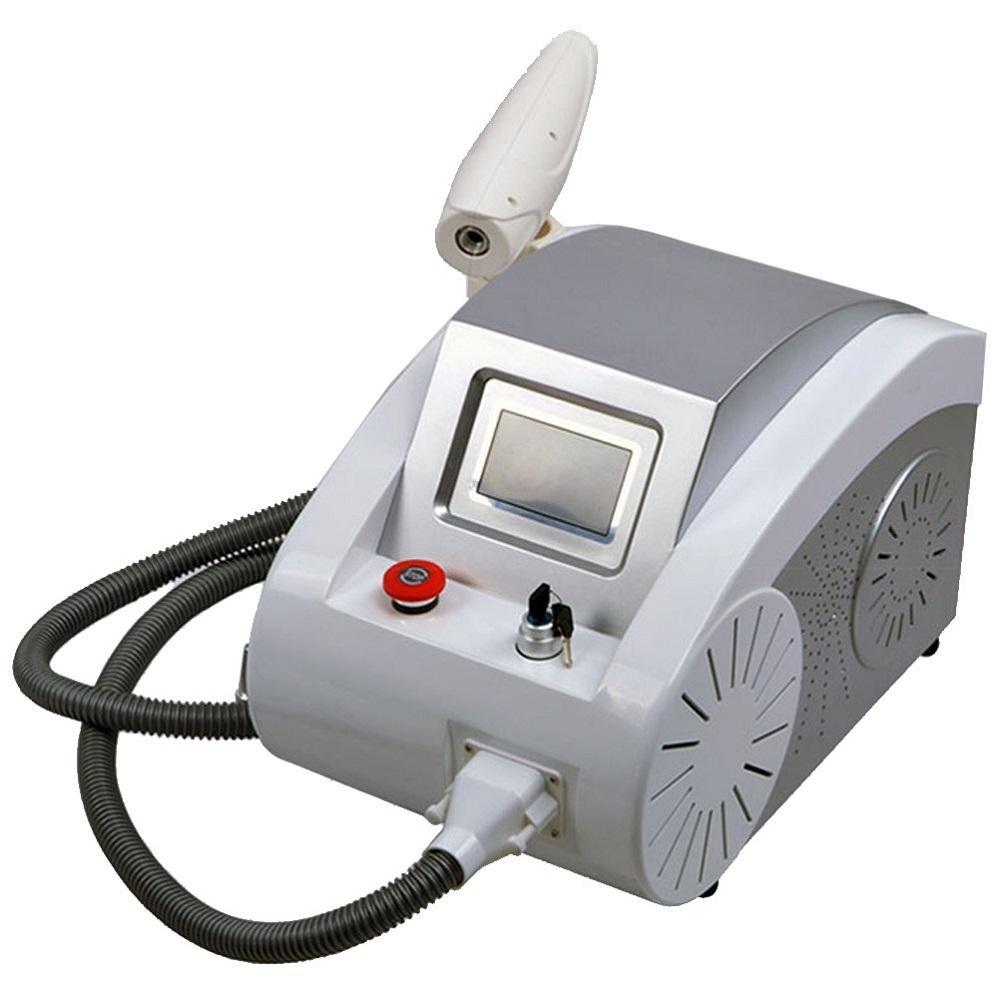 Q Interruttore di rimozione del tatuaggio del laser Nd Yag macchina di bellezza Pigmenti rimozione 1064nm 532nm 1320 nm
