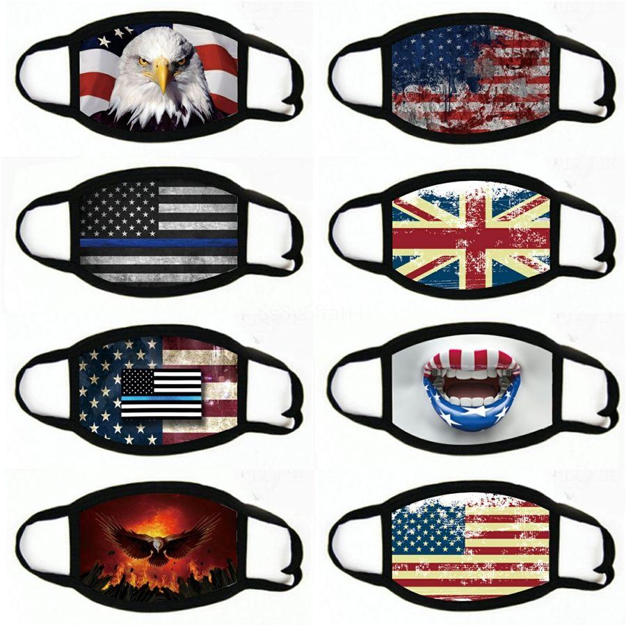 Bandeira Facemask Máscaras embaladas individualmente Nariz preços de capa Bandeira Austrália de fábrica dicount Meio Desligado Melhor Venda Barato Modest # 508