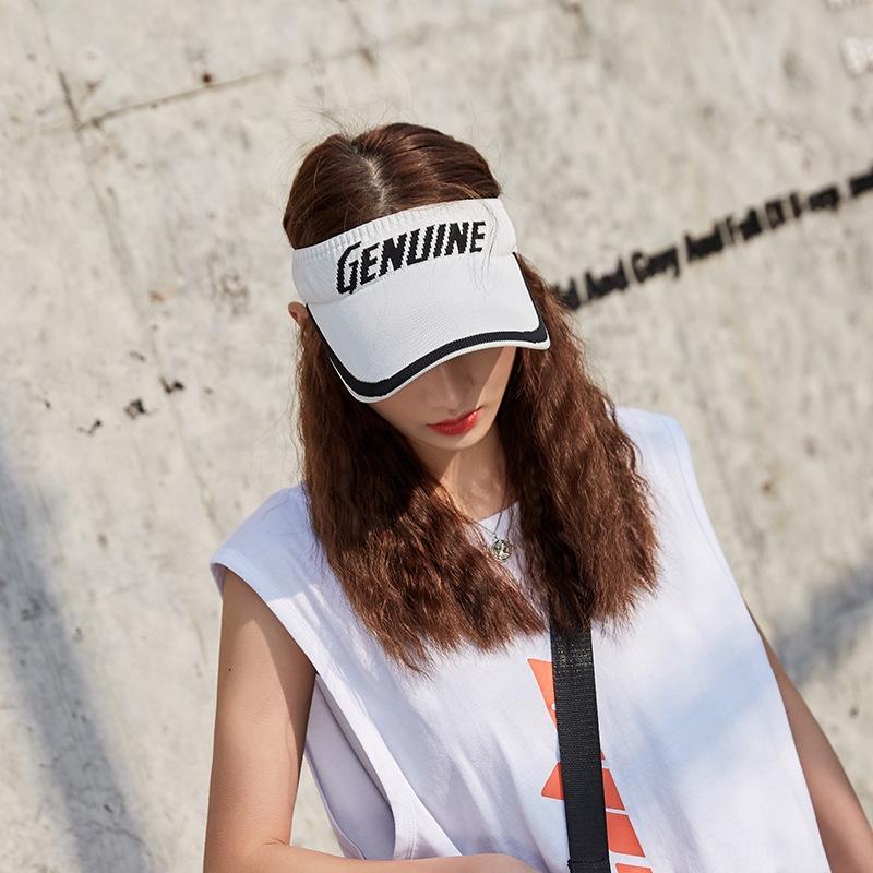 stile ILcDR Estate coreano sport alla moda cappello cappuccio protezione solare delle donne del cappello protezione solare tappo superiore vuoto alla moda del tutto-fiammifero