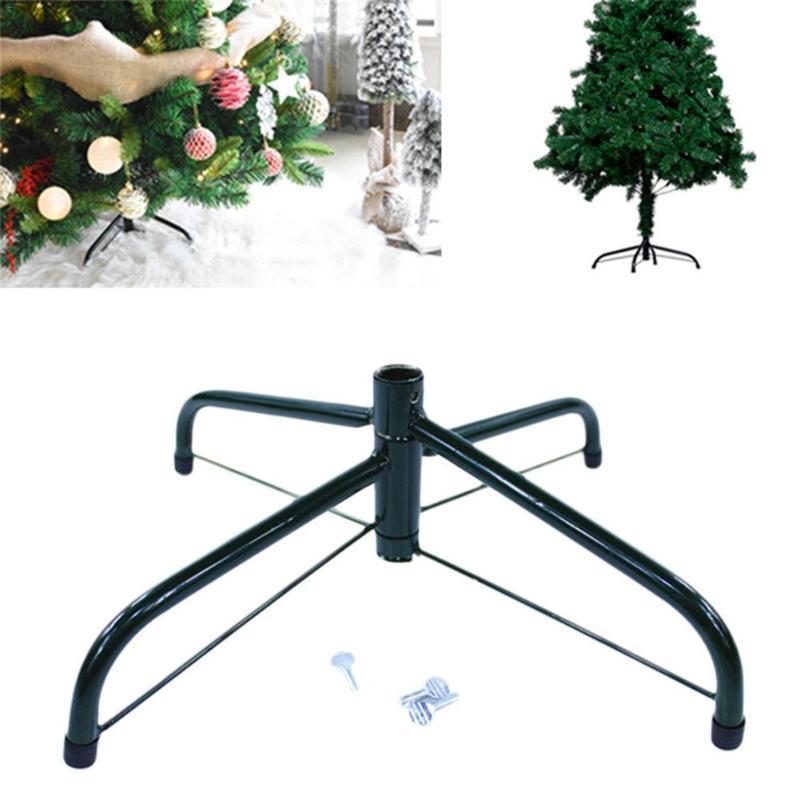 Árvore de Natal Stand Holder Árvore de Natal do metal base de suporte rack 4 Feets Acessórios 2020 Ano Novo Home Decor