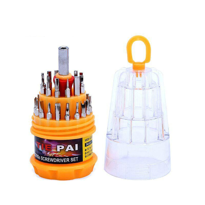 31 IN 1 Screwdriver Set Precision iPhone CellPhone Computer Camera Slotted Phillips Screwdriver Maintenance Tools Torx Hex Screw Driver Set