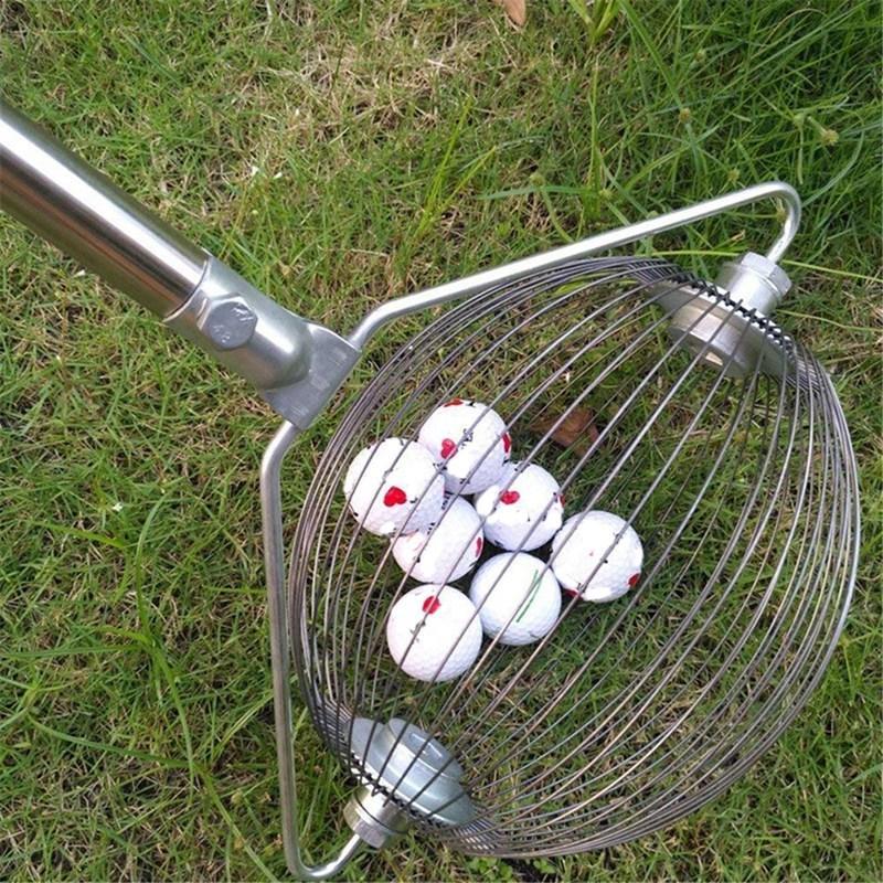 كرة الغولف التقاط كرات سهلة التقاط جير دلو نمط كرة الغولف المسترد جولف الكرة التقاط أداة جامع شحن مجاني