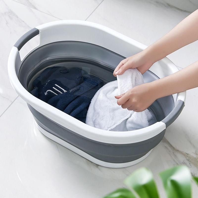 20200911 bacia de dobramento lavatório grande bacia de plástico