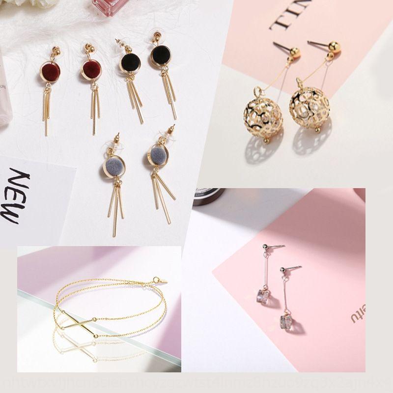 accessori fatti a mano fai da te T11Ei doppio foro di biella perline nappa Borsa Materiale 100 fai da te collana orecchini accessori