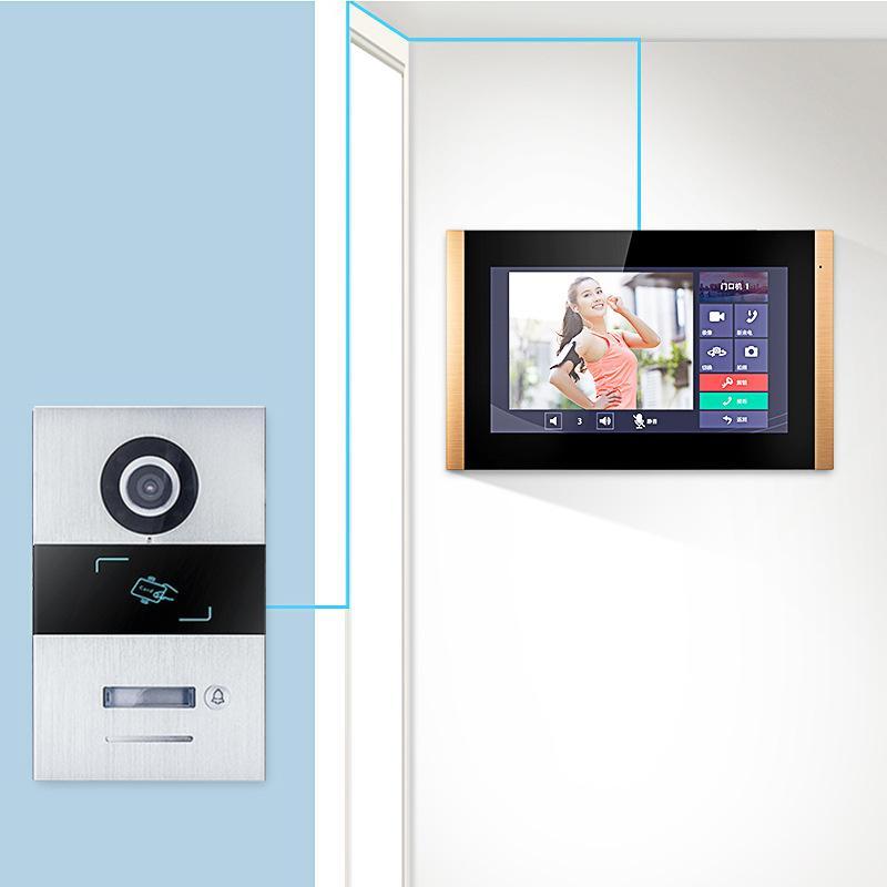 Camorls Digital HD Video Intercomunicador de porta Monitoramento Home Wired Smart Access Access System