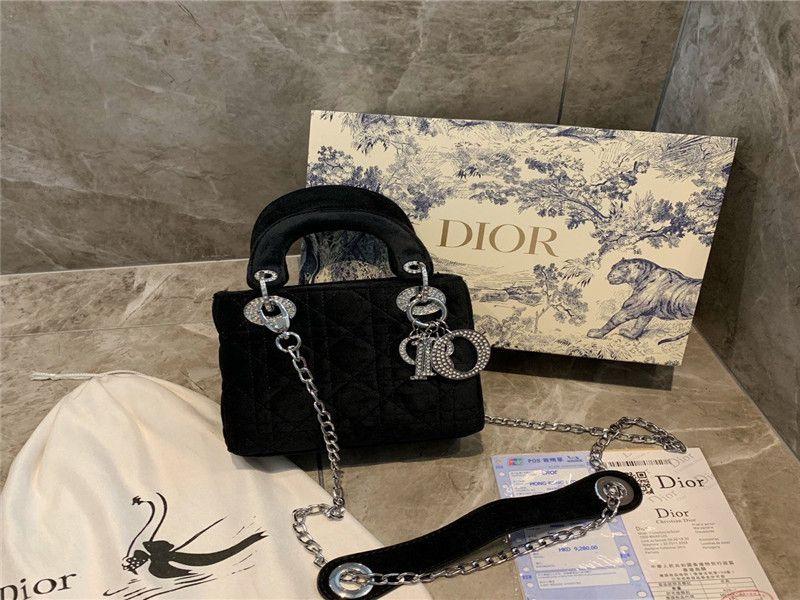 Damen-Modedesigner Handtaschen echte Leder Schultertasche Umhängetasche Tasche Handtasche Tasche Geldbeutel GRÖSSE Hand Nachricht: 17 * 14 * 9 GESCHENKBOX FREAHH