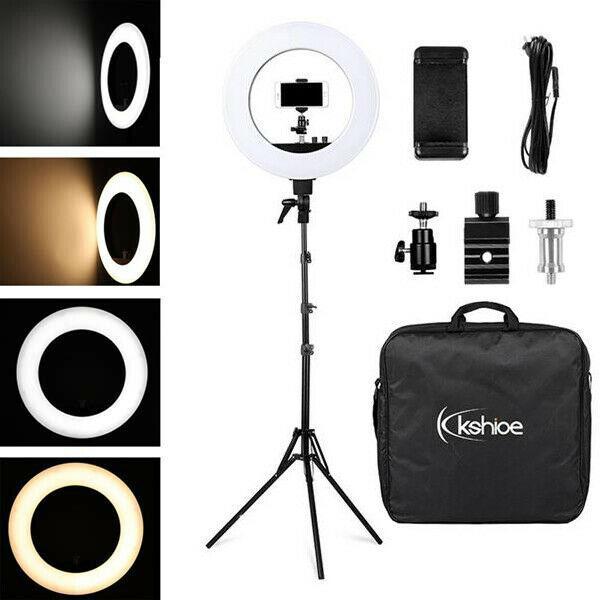 480 LED 전문 디 밍 링 라이트 Tiktok 인 전화 / 카메라 사진