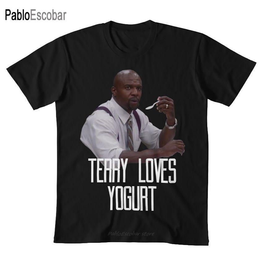 Brooklyn Neuf-neuf - yogourt T-shirt Terry éponge brooklyn neuf séries brooklyn 99