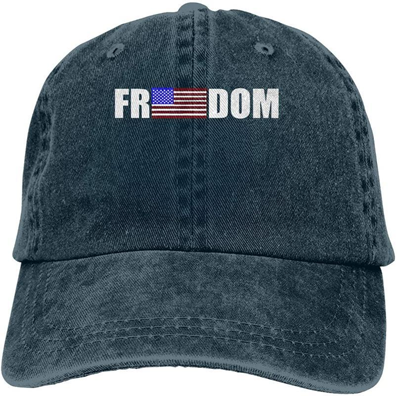 American Freedom Unisex Soft Casquette Cap Vintage Adjustable Baseball Caps
