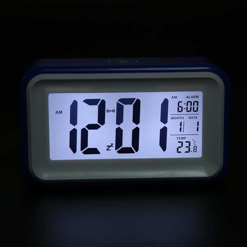 Многофункциональный изысканные цифровой электронный будильник с подарком показателя температуры