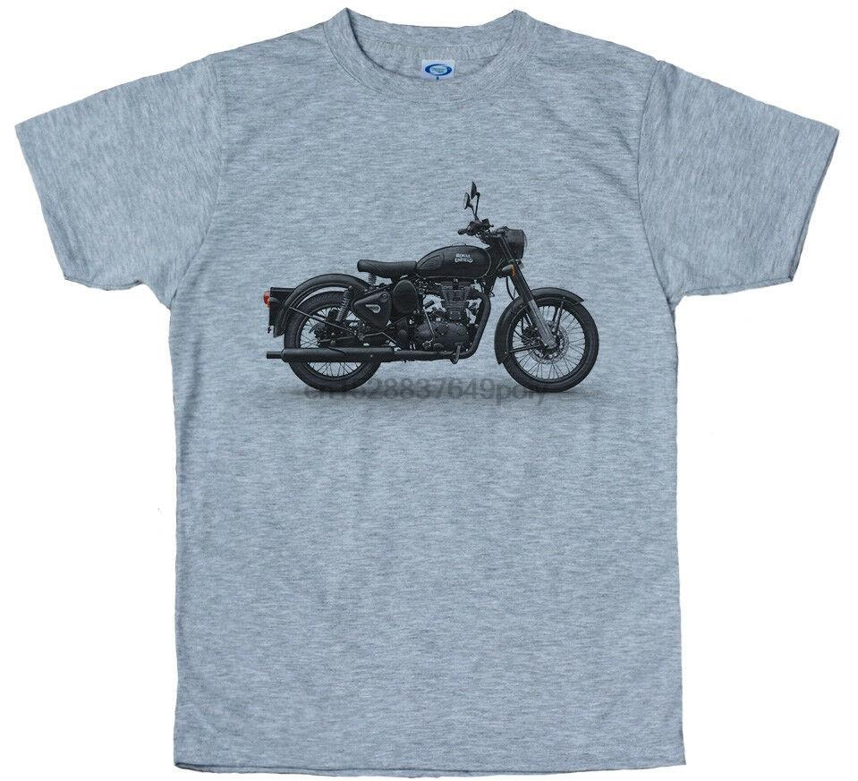 Royal Enfield Классический 500 T Shirt Design