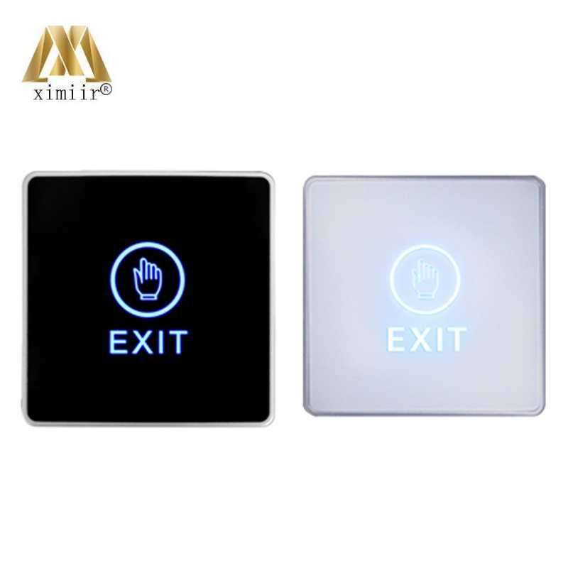 Touch switch door release buttons access control touch Exit Button NC/NO/COM