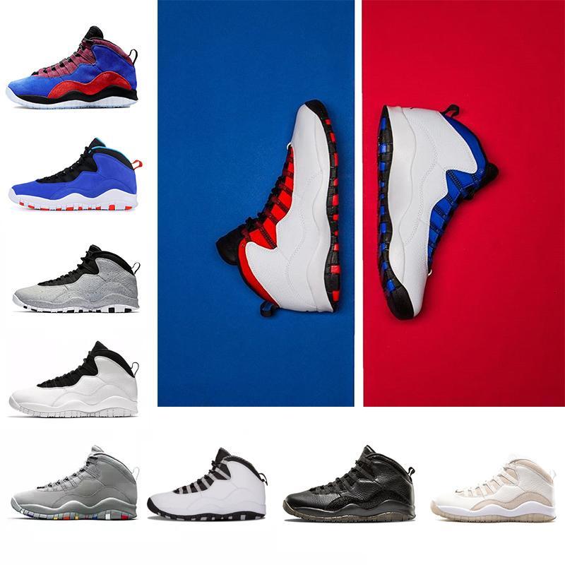 Chaussures 10 10s Westbrook Cool Gray Je suis de retour des hommes chaussures de basket-ball Drake Bobcats acier hommes du sport des hommes Chaussures de sport en plein air formateur