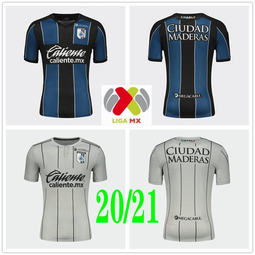 Acquista 2020 2021 Liga MX Queretaro Soccer Jerseys Camisetas Marcel Ruiz Jaime Gomez Fabian Castillo Custom Queretaro FC Casa Away Camicia Calcio A ...