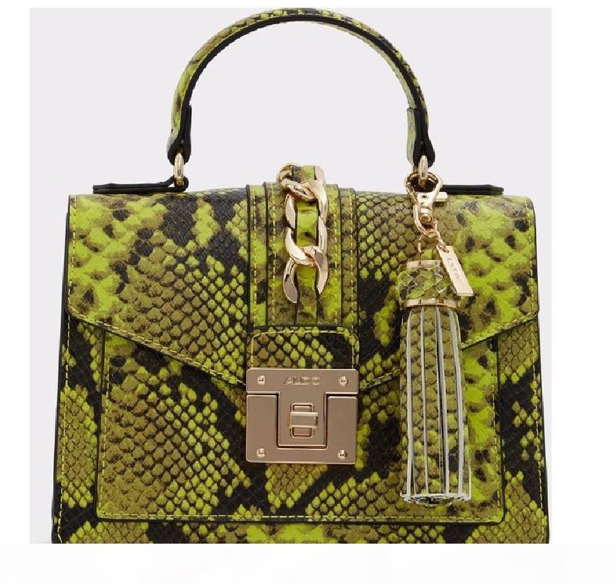 Nouveau sac à main ALDO Serpentine mode sac haute couture de style sacs croix-corps avec un sac Messenger épaule