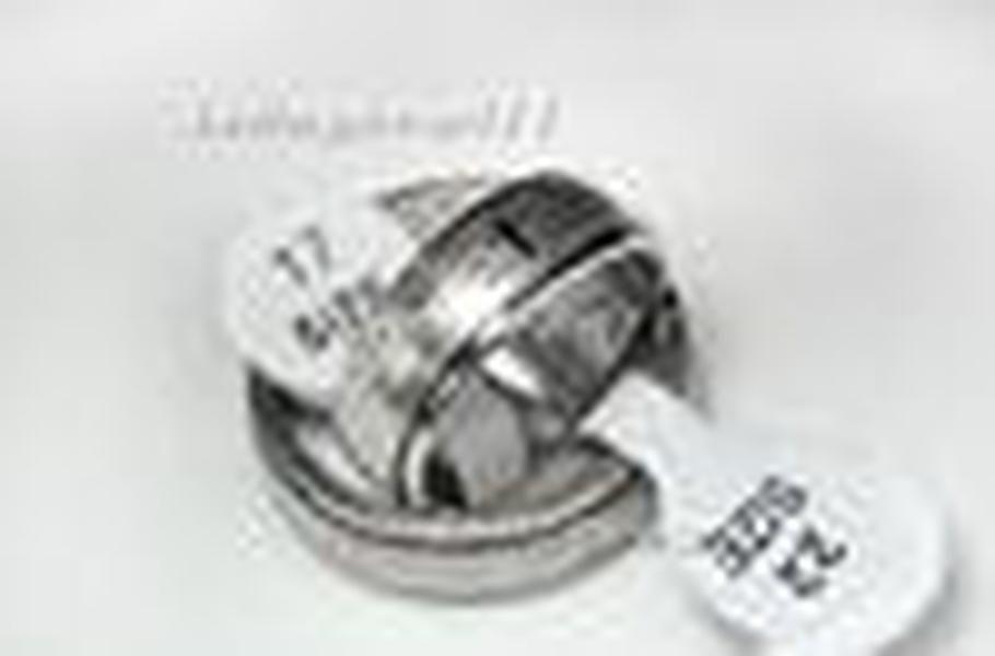 cgjxs Ringe Edelstahl-Bibel-Kreuz-Silber-Ton-Großverkauf verlost Ring Gebet Christian Kreuz