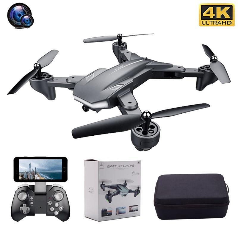 Doble cámara XS816 RC aviones no tripulados 4K HD Fotografía aérea Profesional helicóptero óptico Flujo Posicionamiento Quadcopter